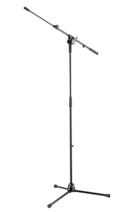 K&M - 25600-300-55 - Mic Stand With Telescopic Boom Arm.