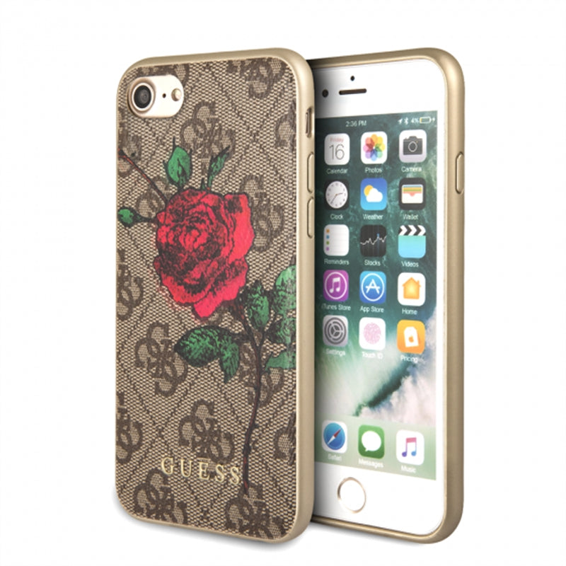 GUESS RED ROSE  CASE FOR IPHONE 7/8