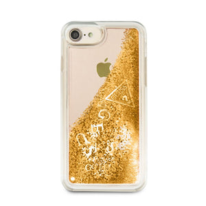 Guess Floating Glitter Case iPhone 7/8