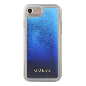 Guess Pink Liquid Glitter Case iPhone 7/8