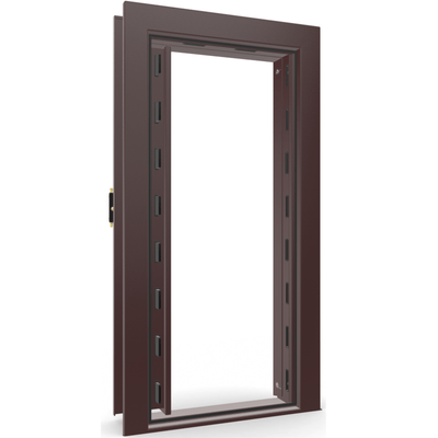 Vault Door Series | Out-Swing | Right Hinge | White Marble | Electronic Lock