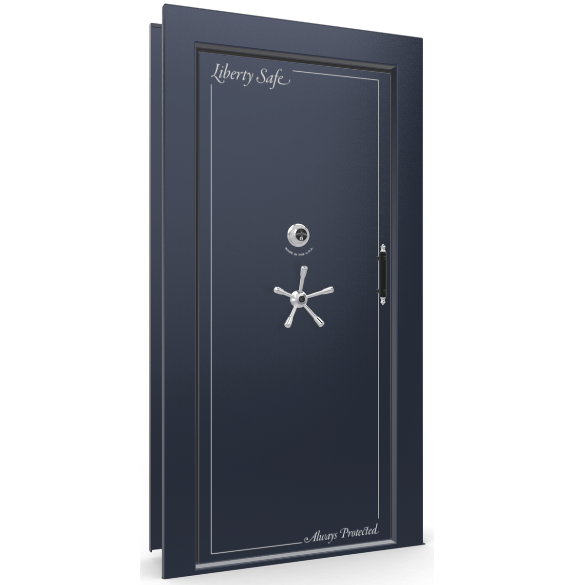 Vault Door Series | Out-Swing | Left Hinge | Champagne Gloss | Mechanical Lock