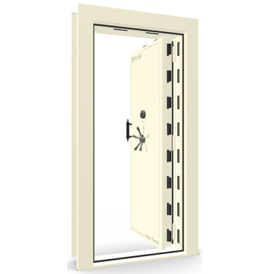 Vault Door Series | In-Swing | Right Hinge | Champagne Gloss | Electronic Lock