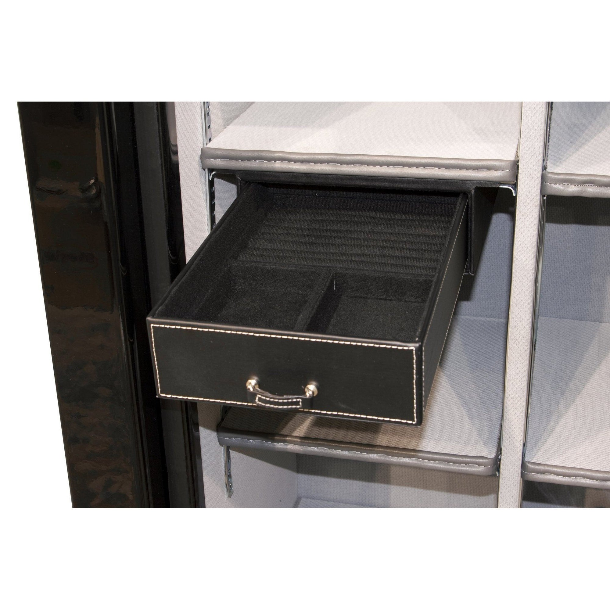 Liberty Safe-accessory-storage-jewelry-drawer-8-5-inch-under-shelf-mount-23-50-size-safes