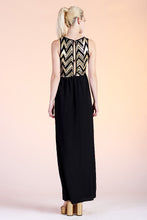 Load image into Gallery viewer, Zig Zag Sequin Maxi Dress - Ahri