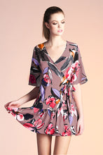 Load image into Gallery viewer, Peony Wrap Mumu Dress - Ahri