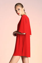 Load image into Gallery viewer, Take it Easy Shift Dress - Red