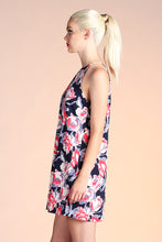 Load image into Gallery viewer, Abstract Floral Shift Dress - Ahri