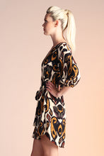Load image into Gallery viewer, Kashmir Paisley Sleeved Dress - Ahri