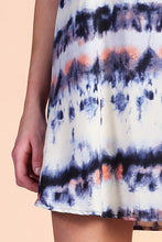 Load image into Gallery viewer, Accordion Tie Dye Shift Dress - Ahri