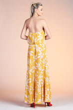 Load image into Gallery viewer, Maui Leaf Strapless Dress