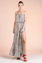 Load image into Gallery viewer, Snow Leopard Maxi Dress - Ahri