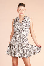 Load image into Gallery viewer, Snow Leopard Baby Ruffle Day Dress - Ahri