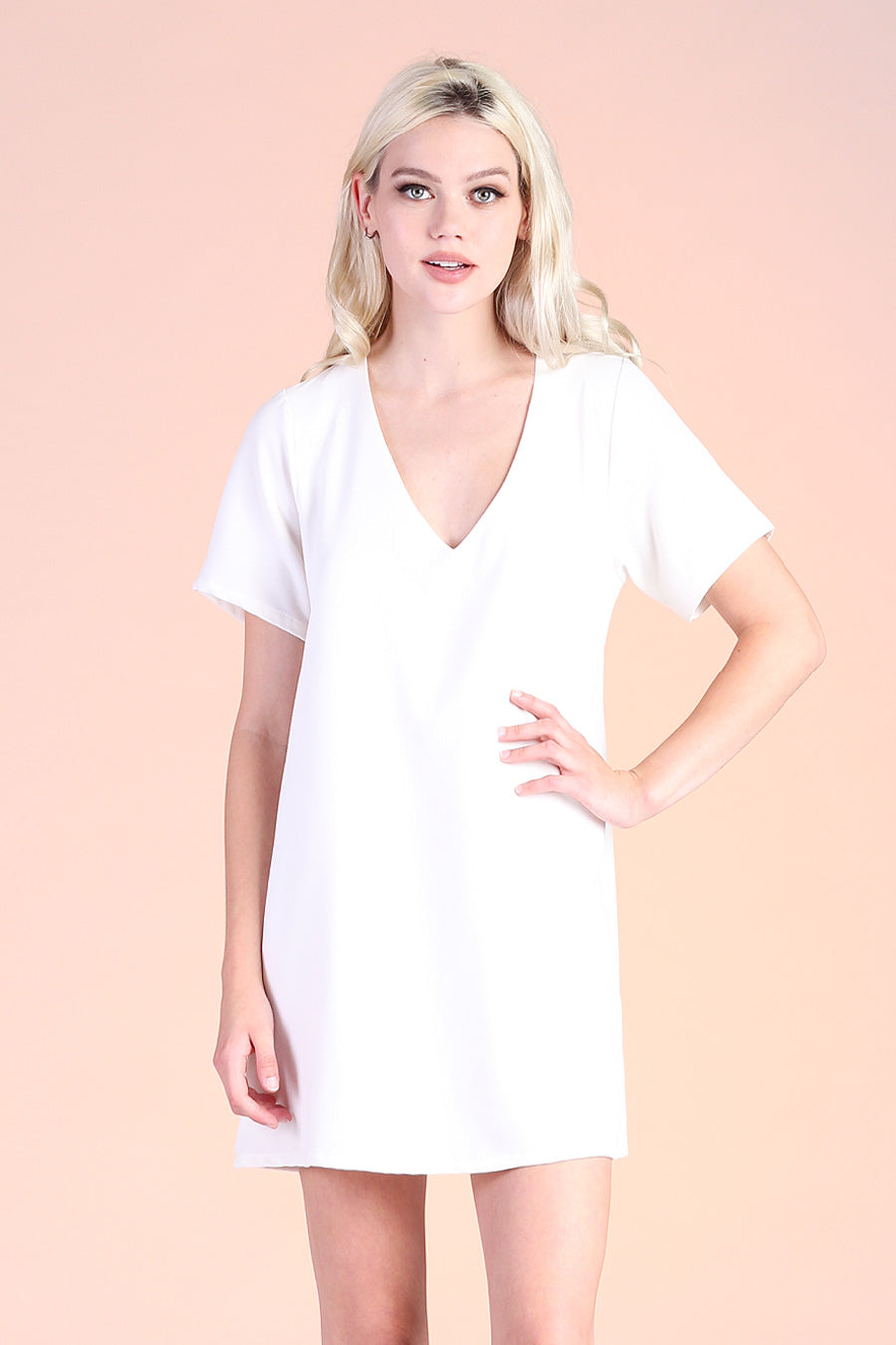 Heavy Crepe Shift Dress