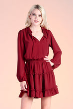 Load image into Gallery viewer, Baby Ruffle Long Sleeve Dress