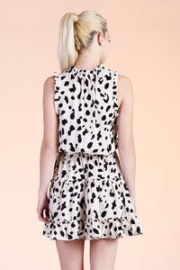 Dalmatian Baby Ruffle Day Dress - Ahri