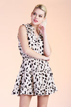 Load image into Gallery viewer, Dalmatian Baby Ruffle Day Dress - Ahri