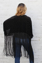 Load image into Gallery viewer, Ziggy Velvet Kimono