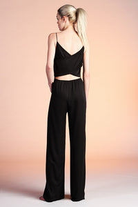 Cross Back Jumpsuit - Ahri