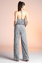 Load image into Gallery viewer, Pine Halter Jumpsuit - Ahri