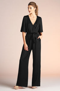 Side Wrap Jumpsuit - Ahri
