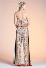 Load image into Gallery viewer, Leopard Queen Strapless Jumpsuit - Ahri