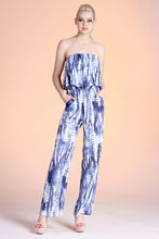 Load image into Gallery viewer, Shibori Tie Dye Jumpsuit