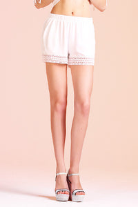 Lace Bottom Shorts - Ahri