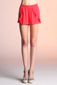 Ruffle Bottom Shorts - Ahri