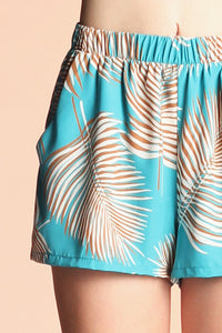 Tropical Vacation Shorts - Ahri