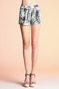Tonal Palm Shorts