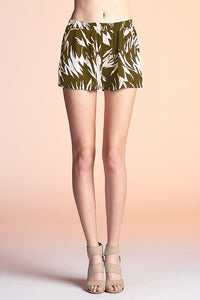 Shadow Leaf Shorts