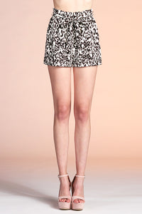 Cheetah Girl Paper Bag Shorts - Ahri