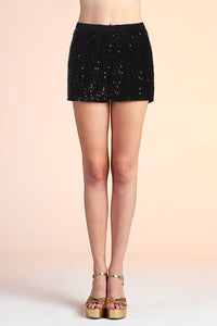 Fancy Pants Sequin Shorts - Ahri