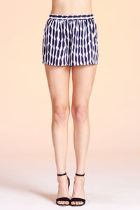 Geo Stripe Shorts