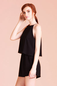 Classic High Neck Romper - Ahri