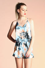 Load image into Gallery viewer, Midnight Sun Ruffle Romper - Ahri