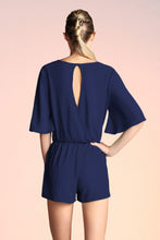 Load image into Gallery viewer, Tie Front Romper