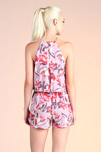 Load image into Gallery viewer, Abstract Floral Romper - Ahri