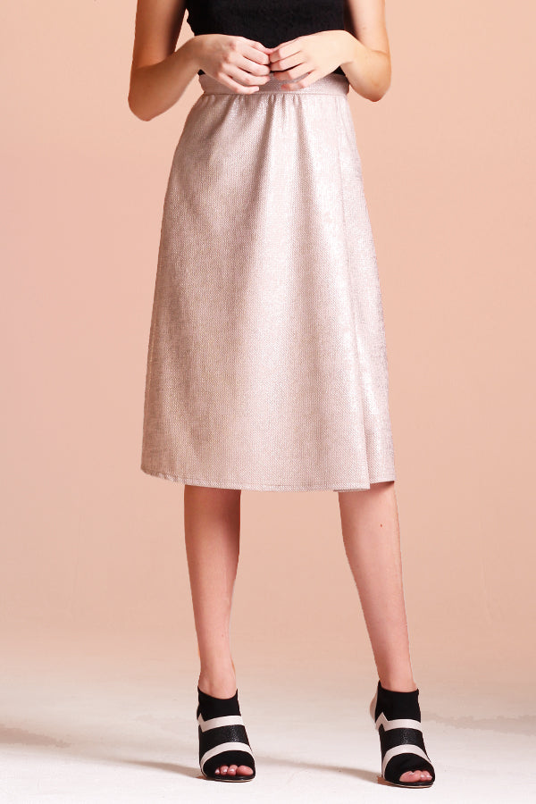 Champagne Dreams Midi Skirt - Ahri