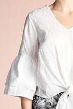 Load image into Gallery viewer, Eyelet Ruffle Sleeve Top - Ahri