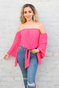 Bell of the Ball Top - Pink Punch
