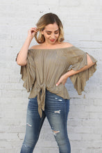 Load image into Gallery viewer, Twinkle Rayon Off Shoulder Top
