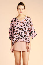 Load image into Gallery viewer, Graphic Leopard Kimono Top - Ahri