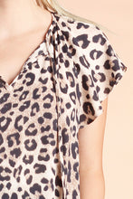 Load image into Gallery viewer, Leopard Queen Flutter Sleeve Top - Ahri