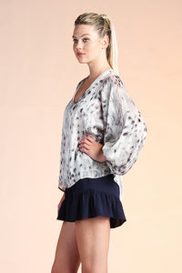 Komodo Princess Balloon Sleeve Top - Ahri