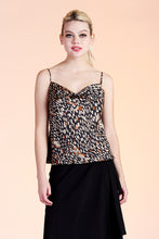Load image into Gallery viewer, Wildcat Cowl Satin Cami