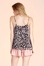 Load image into Gallery viewer, Night Leopard Tank Top