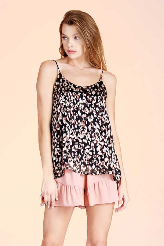 Night Leopard Tank Top