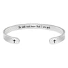 Religious Christian Bracelets for Women - Be Still and Know That I am god.
